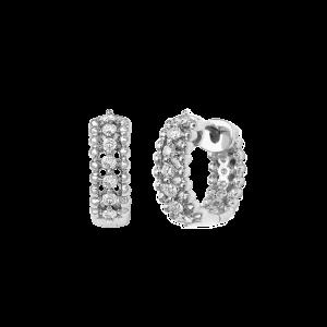 Carrousel Earrings, White...