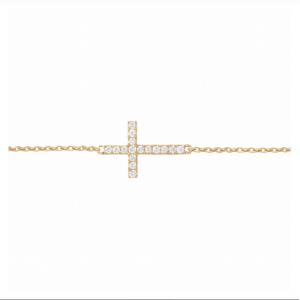 Bracelet Cross, Yellow...
