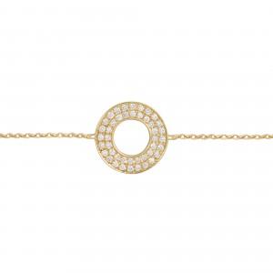 Bracelet Cible, Or jaune,...