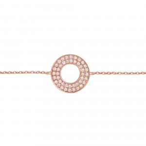Bracelet Target, Rose gold,...