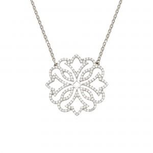Exotic 项链:白金、钻石
