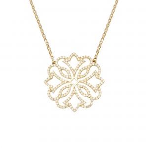 Exotic 项链:黄金、钻石