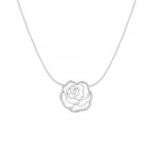 Collier fil la Rose, argent