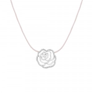 Thread Necklace La Rose ,...