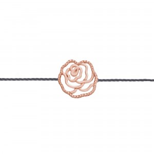 Thread Bracelet rose gold...