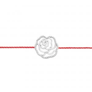 Bracelet fil la Rose, Argent