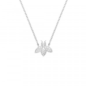 Collier Argent et Diamants...