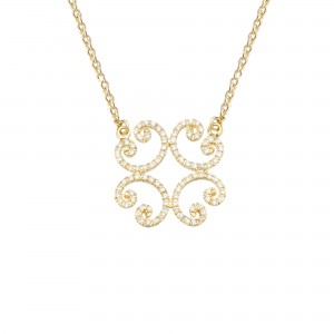 Necklace yellow Gold and...