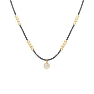 Necklace Marble Perlé,...