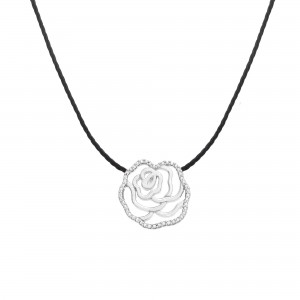 Thread necklace Silver - LA...