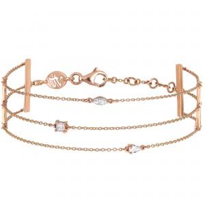 Trilogie Bracelet, Rose...