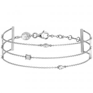 Trilogie Bracelet, White...