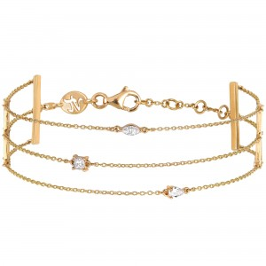 Trilogie Bracelet, Yellow...