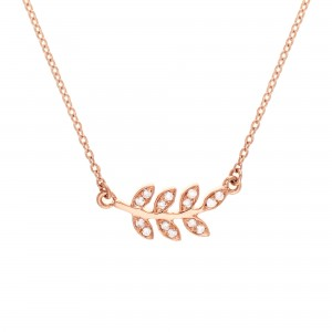 Collier Victoire, Or rose,...