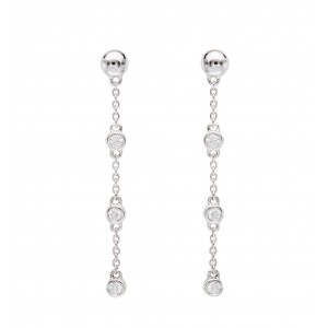 Earrings white Gold and...