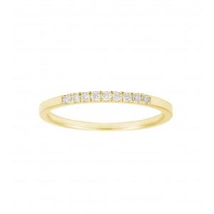 Bague Or jaune et Diamants...