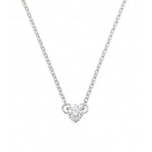 Collier Or blanc et Diamant