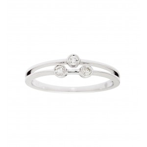 Ring white Gold and...