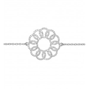 Bracelet Or blanc 750/1000...