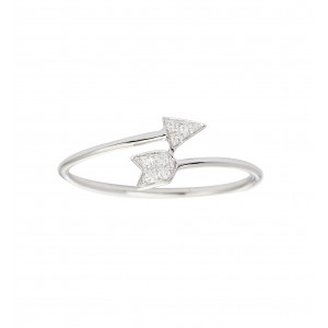SHAPES - Collier chaînette, Pastille, Diamants