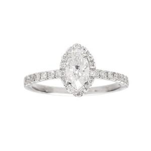 Engagement ring white Gold...