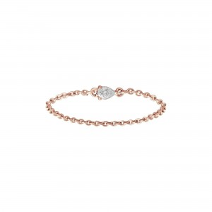 Chain Ring rose Gold and...