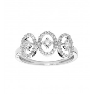 Bague Emmeline en or blanc