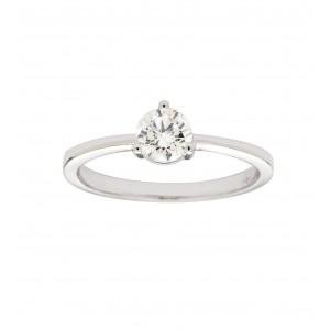 Bague solitaire diamant HSI...