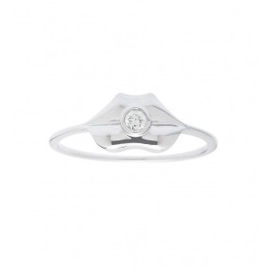 Bague Kiss en or blanc