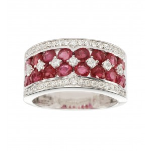 Bague Monarque Rubis en or...