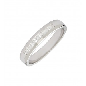 Bague Union en or blanc