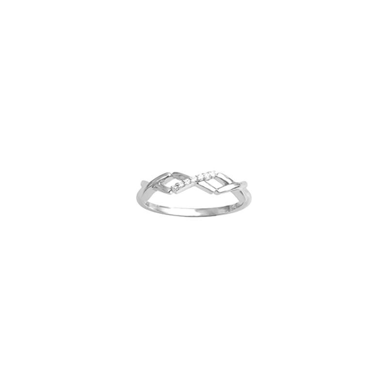 IDENTITY - Ring, Solitaire diamonds
