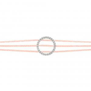 Bracelet Rainbow Argent -...