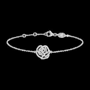 SHAPES - Bracelet chaînette, Pastille, Diamants