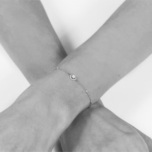 IMPERIAL - Bracelet Impérial, chaînette & Diamants