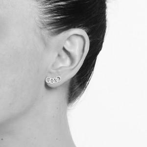 PROMESSE - Bague anneau Promesse, pavée de diamants