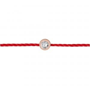 Bracelet fil Plaqué or rose...