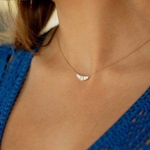 PARISIENNE - Bracelet chaînette & Diamants