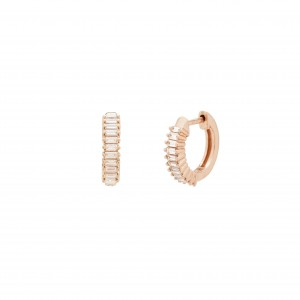 Earrings Pink Gold and...