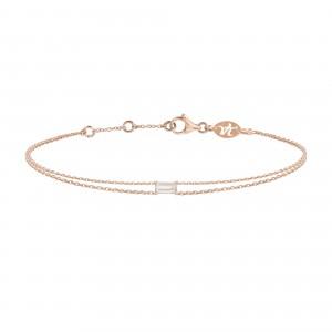 Bracelet Double Chain Pink...
