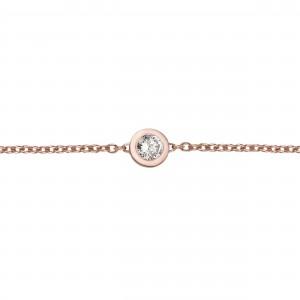 Bracelet Or rose et Diamant...