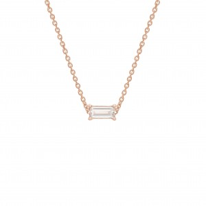 Necklace Pink Gold and...