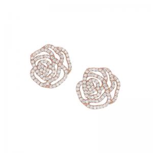 Boucles d'Oreilles La Rose,...