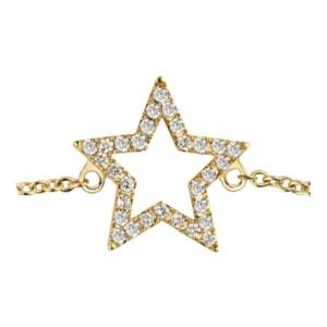PARISIENNE - Collier chaînette Trio & Diamants