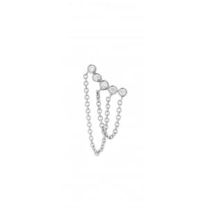 PARISIENNE - Collier Fil & Diamants