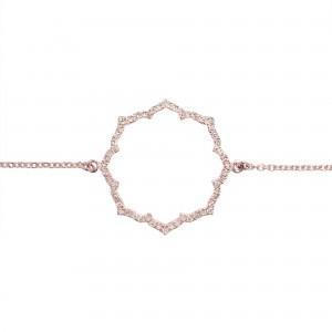 Bracelet Blossom, Or rose,...