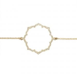 Bracelet Blossom, Or jaune,...