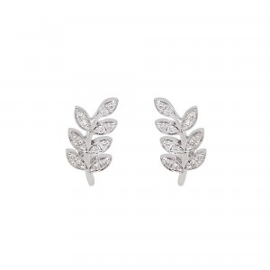 Earrings Victoire, White...