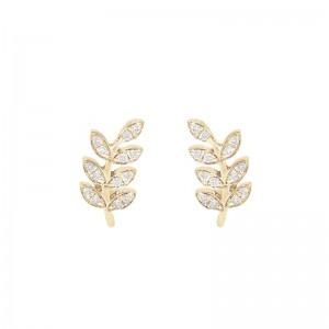 Earrings Victoire, Yellow...
