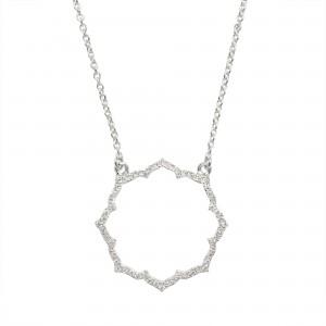 Necklace Blossom, White...